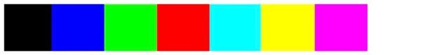 colours r