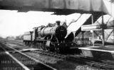 Steam Train at Portskewett Station.