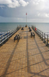 Five Benches to the End of the Pier