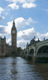 Elizabeth Tower and Westminster Bridge