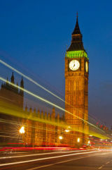 Elizabeth Tower By Night (Big Ben)