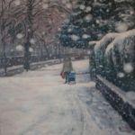 'Homeward In Snowfall'