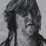 'Self Portrait' - charcoal (1)