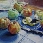 'Still Life, Apples'