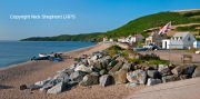 Beesands village and beach