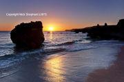 Great Mattiscombe Sands sunset
