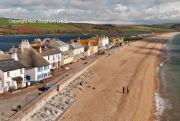 Torcross beach and village