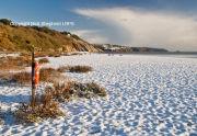Snow at Slapton Sands
