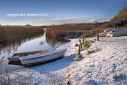 Snow at Slapton Ley
