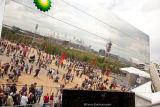 12, The BP Pavillion reflecting the Olympic Stadium