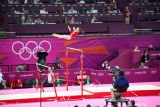11 Jennifer Pinches on Uneven Bars