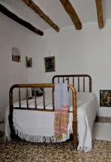 one of the comfortable bedrooms in the Casa
