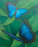 SHIMMERING BLUE