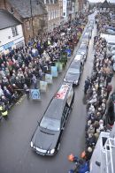 One of the largest repatriations as hundreds line the streets of Wootton Bassett