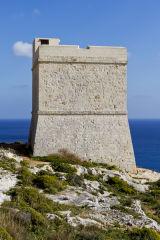 Watchtower, Limits of Qrendi
