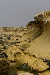 Sandstone landscape, Dwerja, Gozo