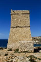 Ghajn Tuffieha watchtower, Malta