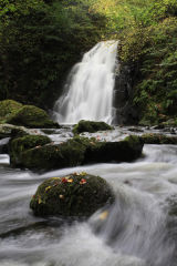Glenoe Waterfall, Northern Ireland
