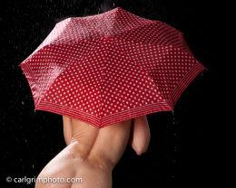 A Big Red Umbrella