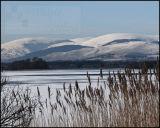 The Ochils from Loch Leven
