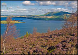 Loch Leven and Kinneswood from Vane hill