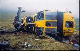 RAF Search and Rescue Sea King Crash on Creag Meagaidh