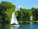Sailing on Cookham Reach