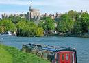 Windsor Castle - from the Brocas meadow
