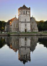 Bisham - all Saints church - c1170-80
