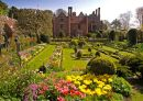 Chenies Manor - the sunken garden