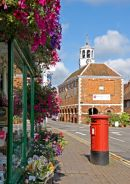 Old Amersham - High Street - the Market Hall