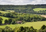 Chiltern Hills - the view from Watlington Hill
