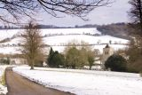 Chiltern Hills - winter in the Hughenden Valley