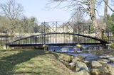 Great Missenden - Victorian footbridge over river Misbourne