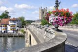 Henley on Thames - the bridge - circa 1786