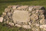 Latimer village green - memorial for a brave horse