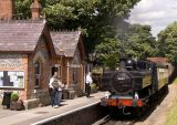 At Chinnor Station