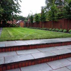 Modern family Rear garden