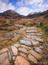 The path to Cwm Idwal .....