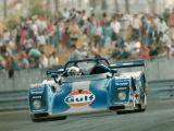 Derek Bell - Gulf Oil Racing Kremer K8 Spyder exits The Esses at Le Mans 1994.
