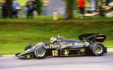 Nigel Mansell - John Player Team Lotus - Lotus-Renault 95T - Brands Hatch 1984