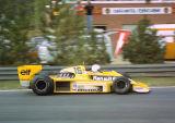 Rene Arnoux - Equipe Renault Elf - Renault RS01 - Belgian GP, Zolder 1979