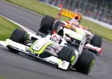 Jenson Button-Brawn BGP 001 - Silverstone 2009