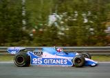 Patrick Depailler - Ligier Gitanes - Ligier JS11 - Belgian GP, Zolder 1979