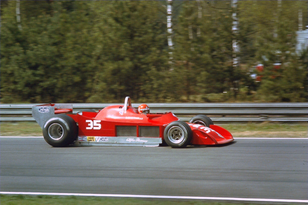 M Lee Photography: Bruno Giacomelli - Autodelta - Alfa ...