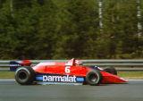 Nelson Piquet - Parmalat Racing team - Brabham BT48 - Belgian GP, Zolder 1979