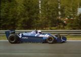 Didier Pironi - Team Tyrrell - Tyrrell 009 - Belgian GP, Zolder 1979
