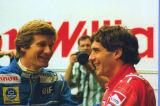 Ayrton Senna & Thierry Boutsen - Silverstone - 1989