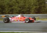 Gilles Villeneuve - Scuderia Ferrari SpA SEFAC - Ferrari 312T4 - Belgian GP, Zolder 1979
