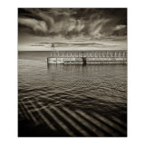 Whitby South Pier bw